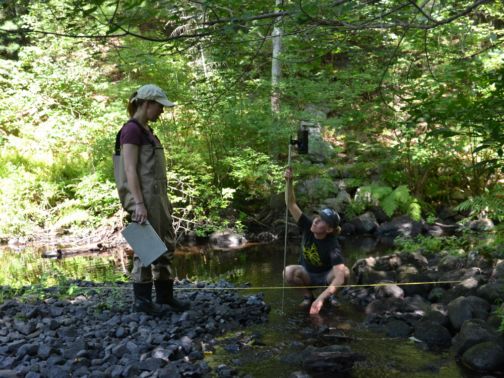 Streamflow Monitoring In The Upper Ipswich