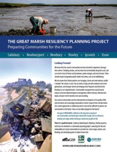 Great Marsh Resiliency informational brochures are now available on line! Click here!