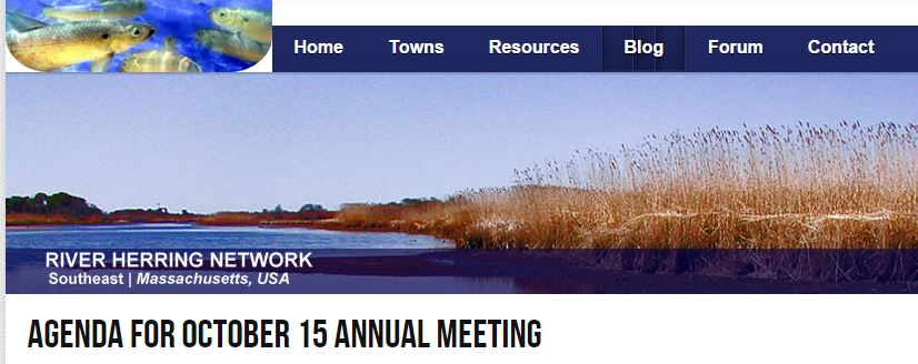 River Herring Network Annual Meeting [10/15/2015]