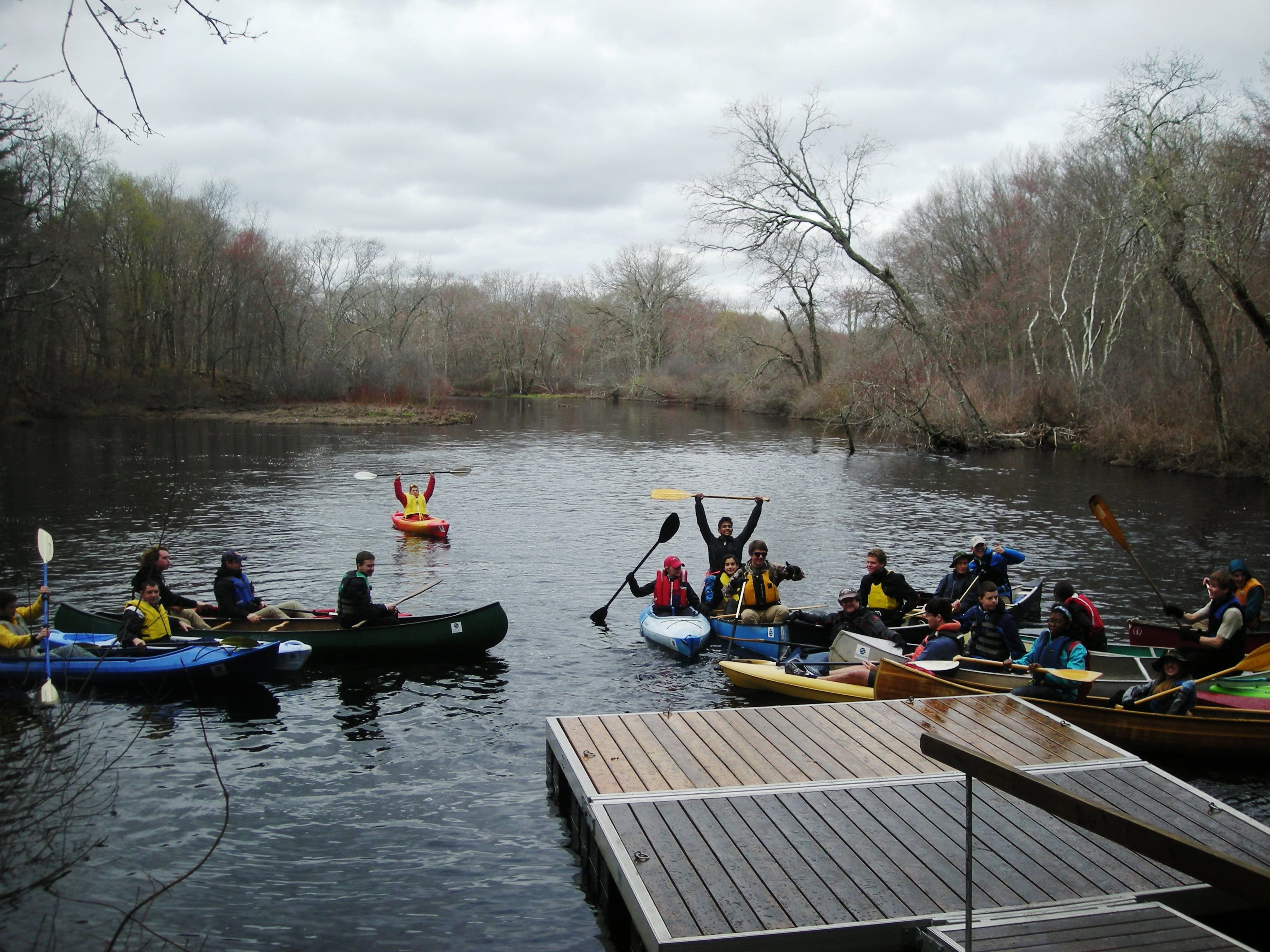 The Ipswich River Seasonal Education And Outreach Apprenticeship Is An Exciting Opportunity To Lead Outdoor Education Paddle Trips For Youth Groups.