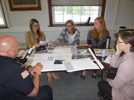 Municipal Staff And Volunteer Committee Members From Ipswich Meet To Discuss Actions To Help The Community Adapt To The Impacts Of Future Climate Change.